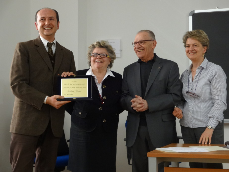 Cerimonia Premio Italiano Di Pedagogia 2014  10