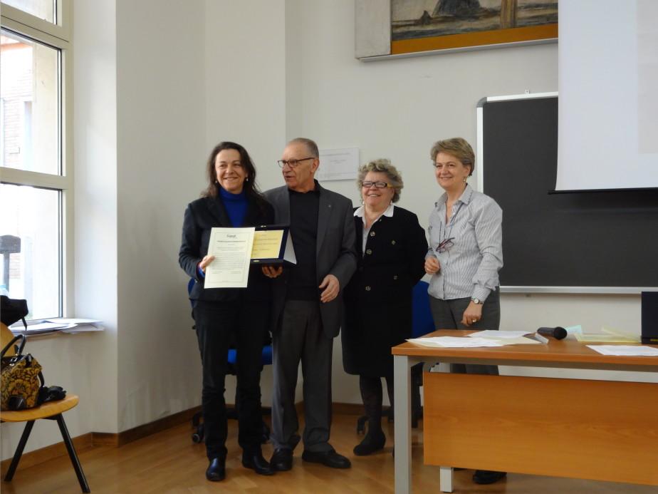 Cerimonia Premio Italiano Di Pedagogia 2014  12