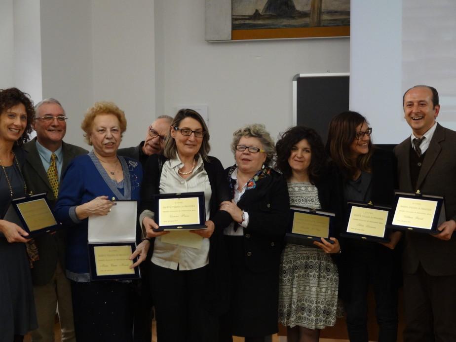 Cerimonia Premio Italiano Di Pedagogia 2014  5