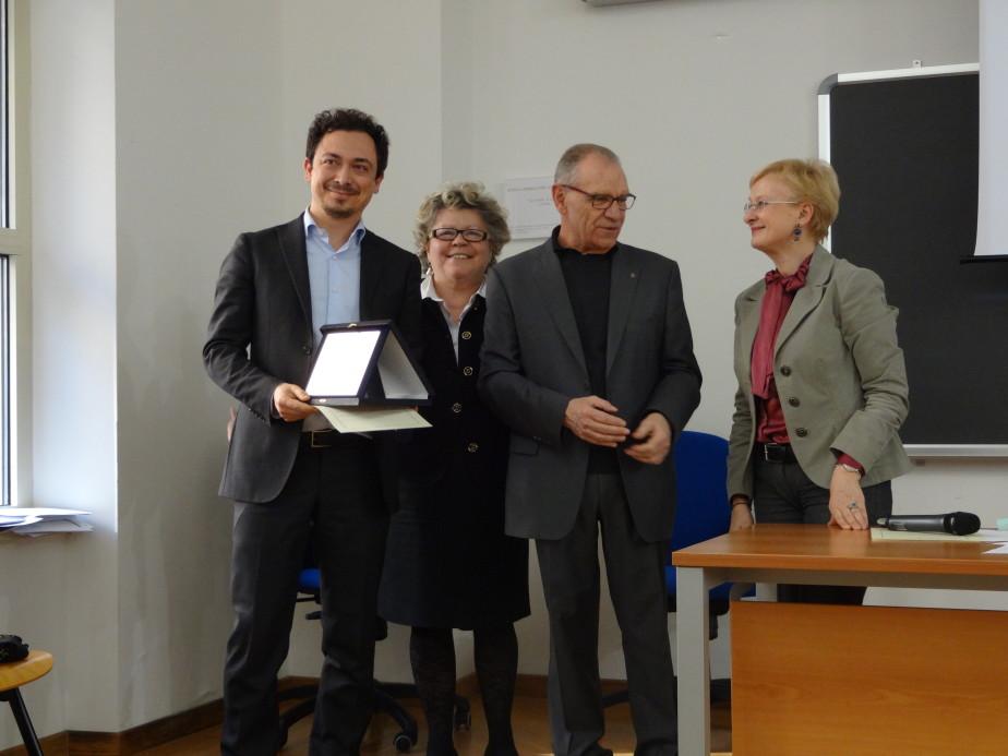 Cerimonia Premio Italiano Di Pedagogia 2014  9