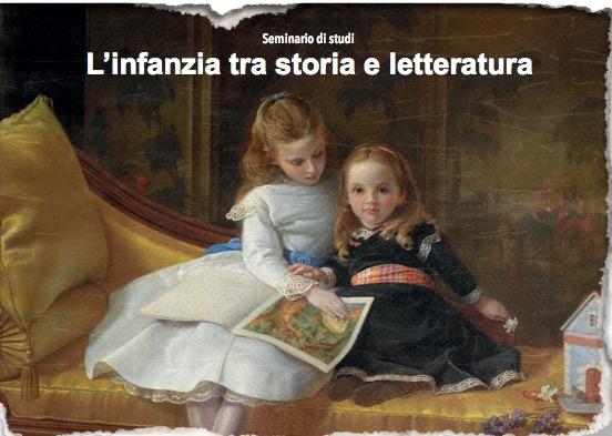 """Seminario """"L'infanzia tra storia e letteratura"""", 14 Marzo – Padova"""