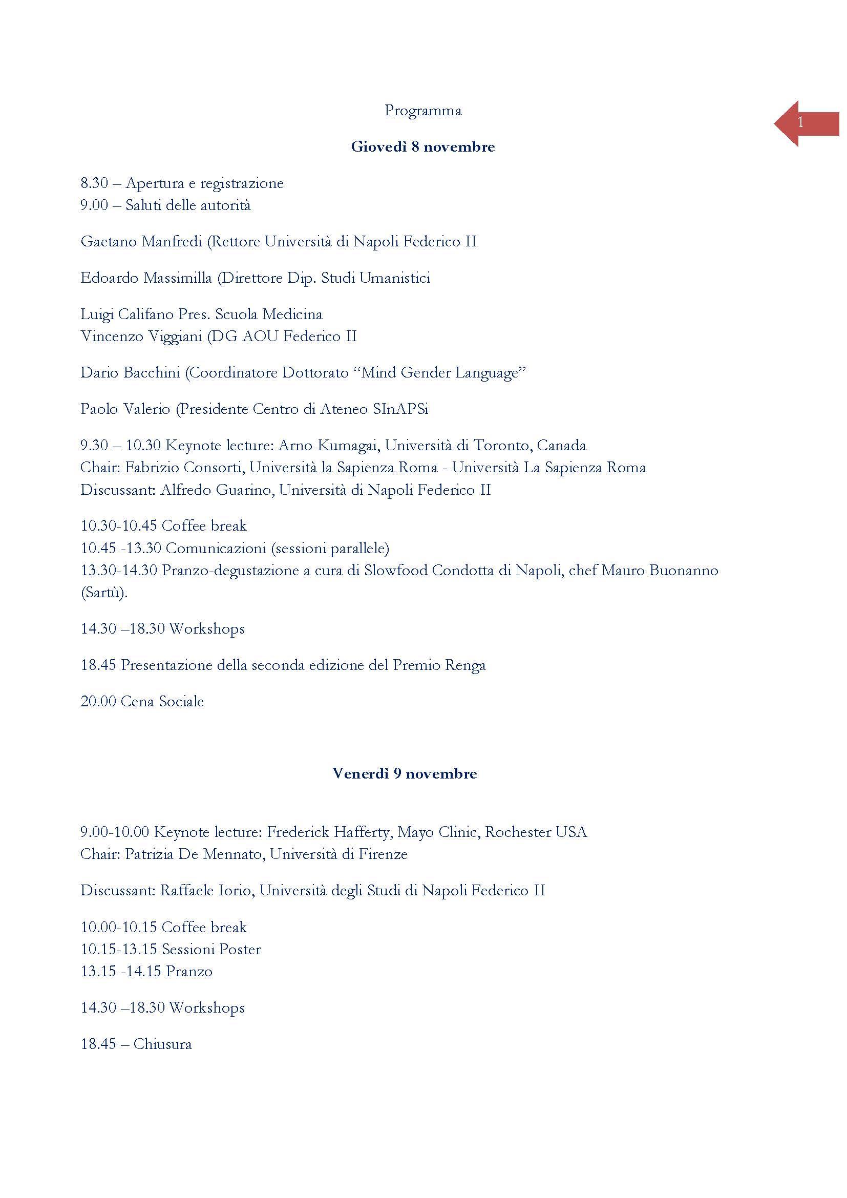 """Convegno """"Slow Medical Education. Il tempo """"giusto"""" per apprendere e curare"""" – 8-9 novembre, Napoli"""