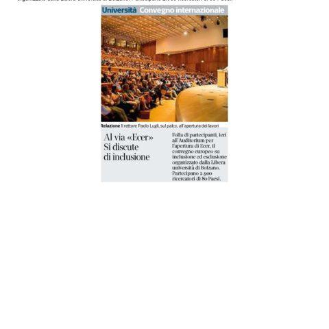 20180905-Corriere-dellAlto-Adige-Al-via--Ecer-Si-discute-di-inclusione