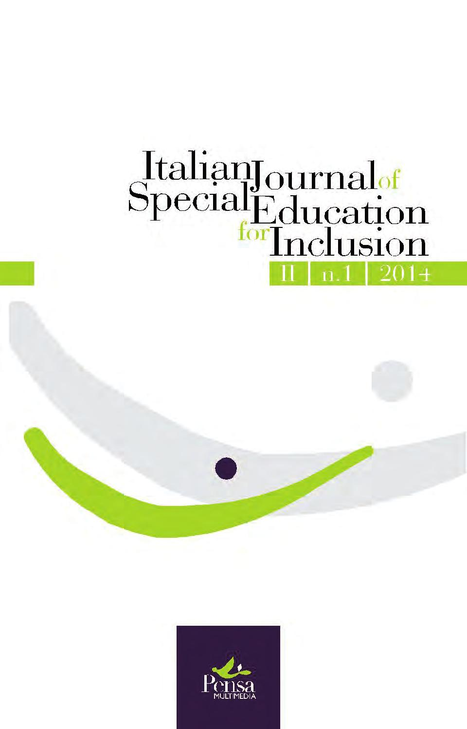 """Call for Papers """"Italian Journal of Special Education for Inclusion"""" – 2/2018"""