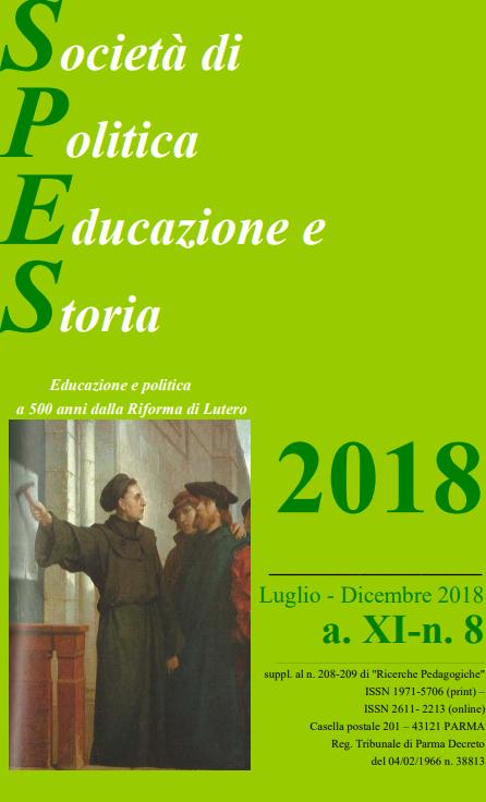 """Pubblicazione nuovo numero della rivista """"SPES"""" – 23 gennaio"""