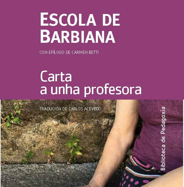 """Pubblicazione in Galiziano de """"Lettera ad una professoressa"""""""