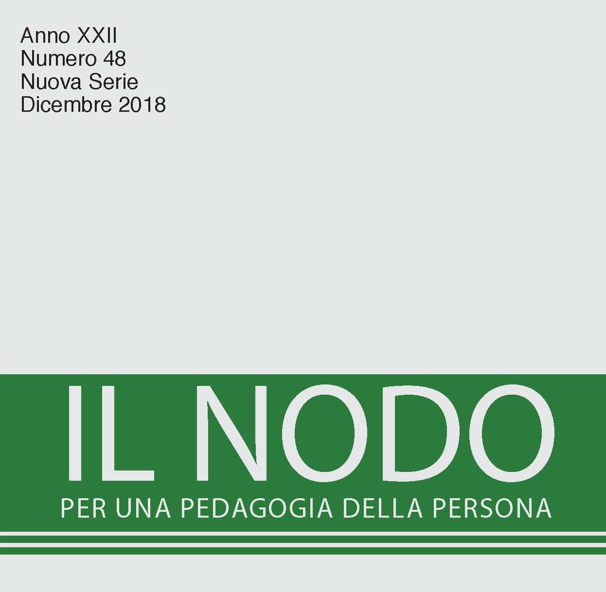 """Presentazione rivista """"Il Nodo. Per una pedagogia della persona"""""""