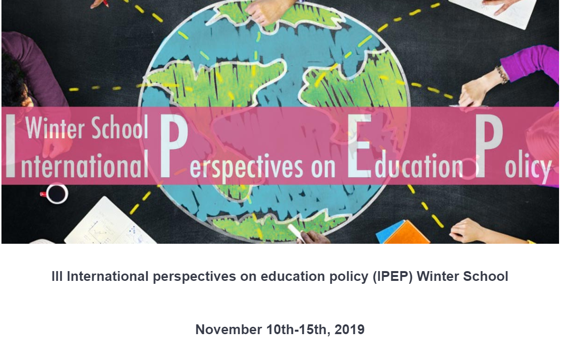 "Winter School ""III International perspectives on education policy (IPEP)"" – 10-15 novembre, Verona"