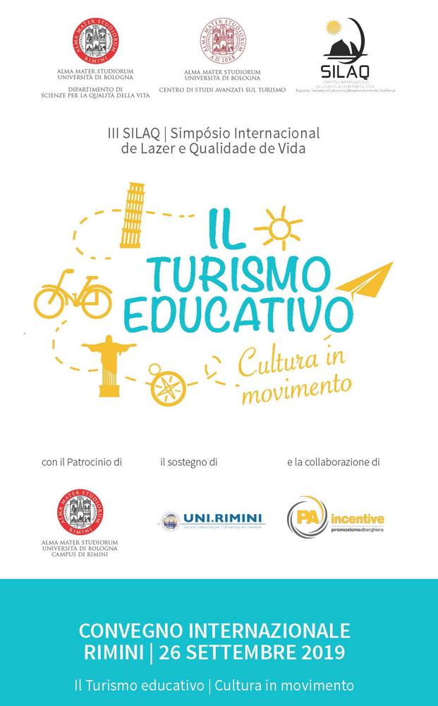 """Convegno internazionale """"Turismo educativo. Cultura in movimento"""" – 26 settembre, Rimini"""