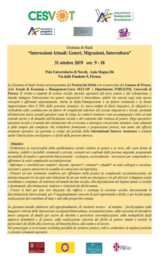 """Giornata di studio """"Educare alla cittadinanza"""" – 31 ottobre, Firenze"""