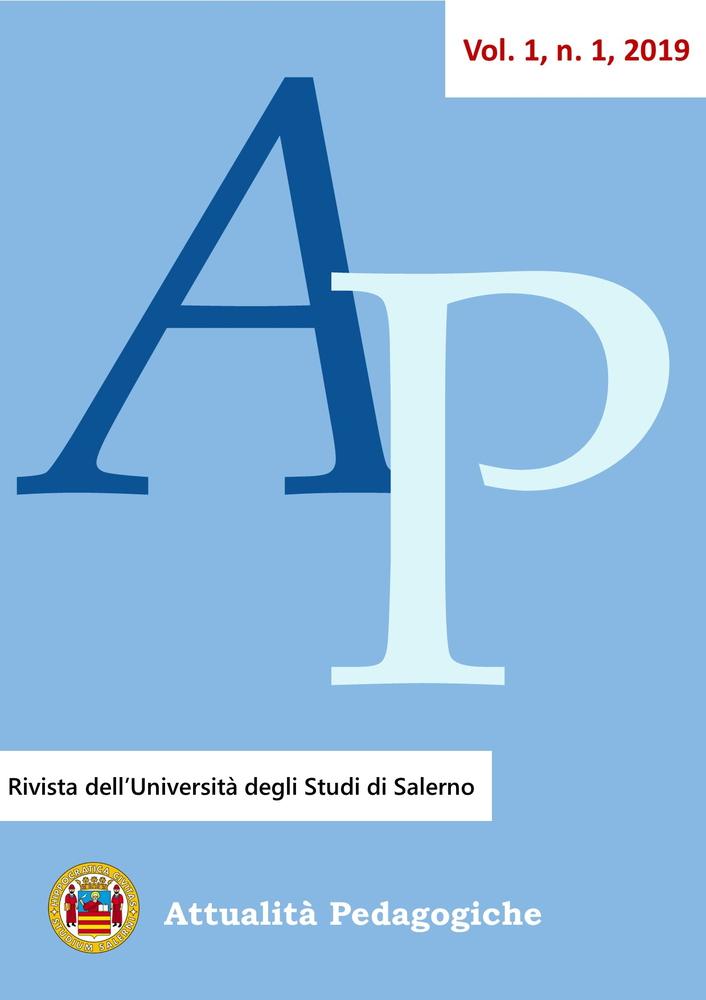 """Pubblicazione Rivista """"Attualità Pedagogiche"""" dal titolo """"Persona, Cura Territorio. Nuovi Paradigmi educativi""""."""