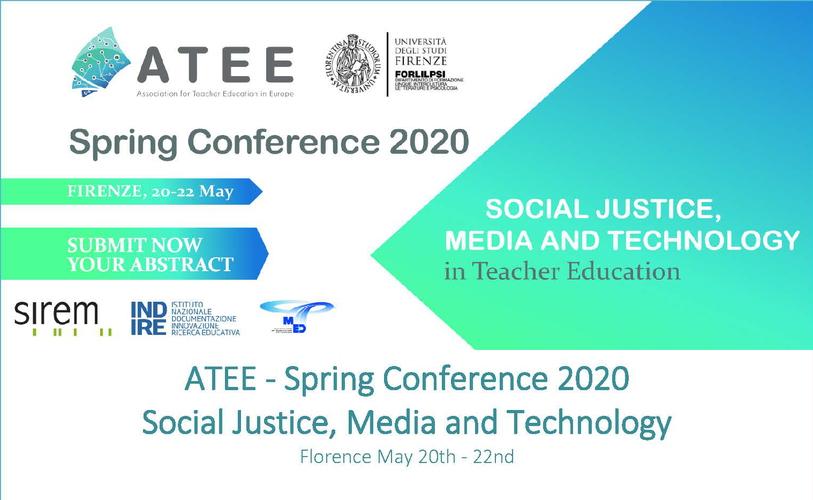 """Convegno """"ATEE Spring Conference 2020"""" – 20-22 maggio, Firenze"""