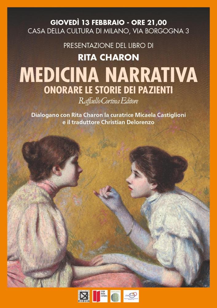 """Presentazione volume """"Medicina narrativa. Onorare le storie dei pazienti"""" – 13 febbraio, Milano"""