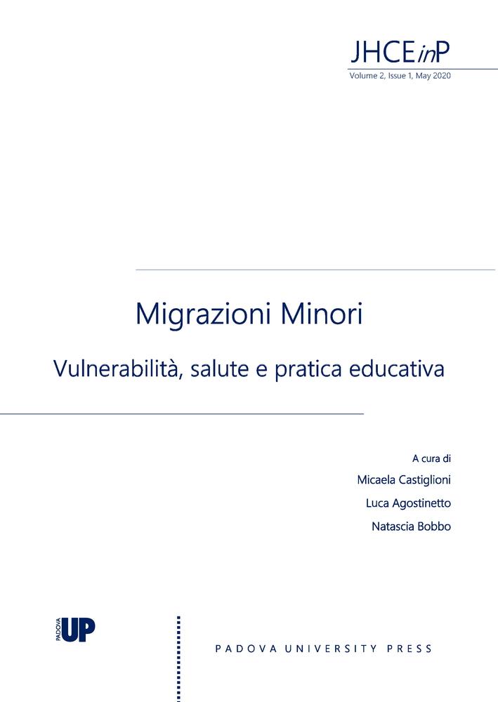 """Pubblicazione nuovo numero della rivista """"Journal of Health Care Education in Practice"""" sul tema """"Migrazioni Minori. Vulnerabilità, salute e pratica educativa"""""""