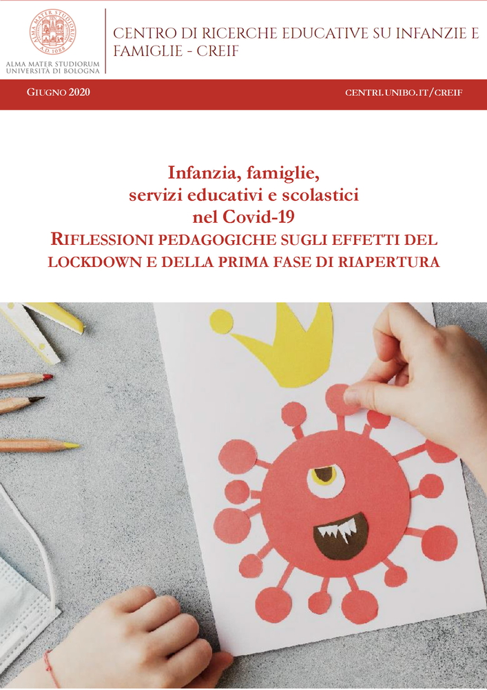 """Pubblicazione dossier """"Infanzia, famiglie, servizi educativi e scolastici nel Covid-19"""""""