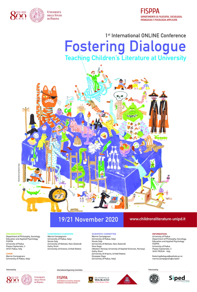 "Conferenza internazionale ""Fostering dialogue. Teaching children's literature at university"" – 19-21 novembre"