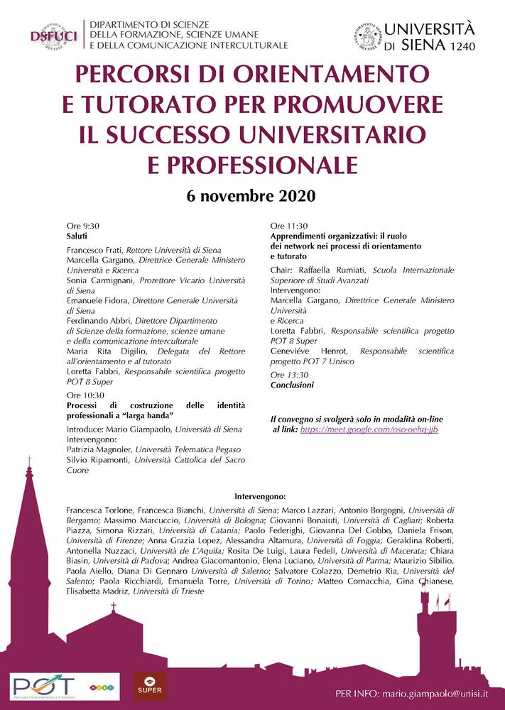 """Convegno internazionale """"La virtù tra paideia, politeia ed episteme. Una questione di lungo periodo"""" - 19-20 novembre - Locandina"""
