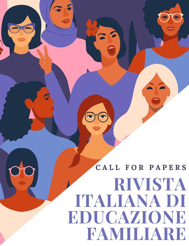 """Call for papers rivista """"Rivista Italiana di Educazione Familiare"""" sul tema """"Il ruolo delle donne nella prevenzione della radicalizzazione e dei comportamenti antisociali nei contesti familiari"""""""