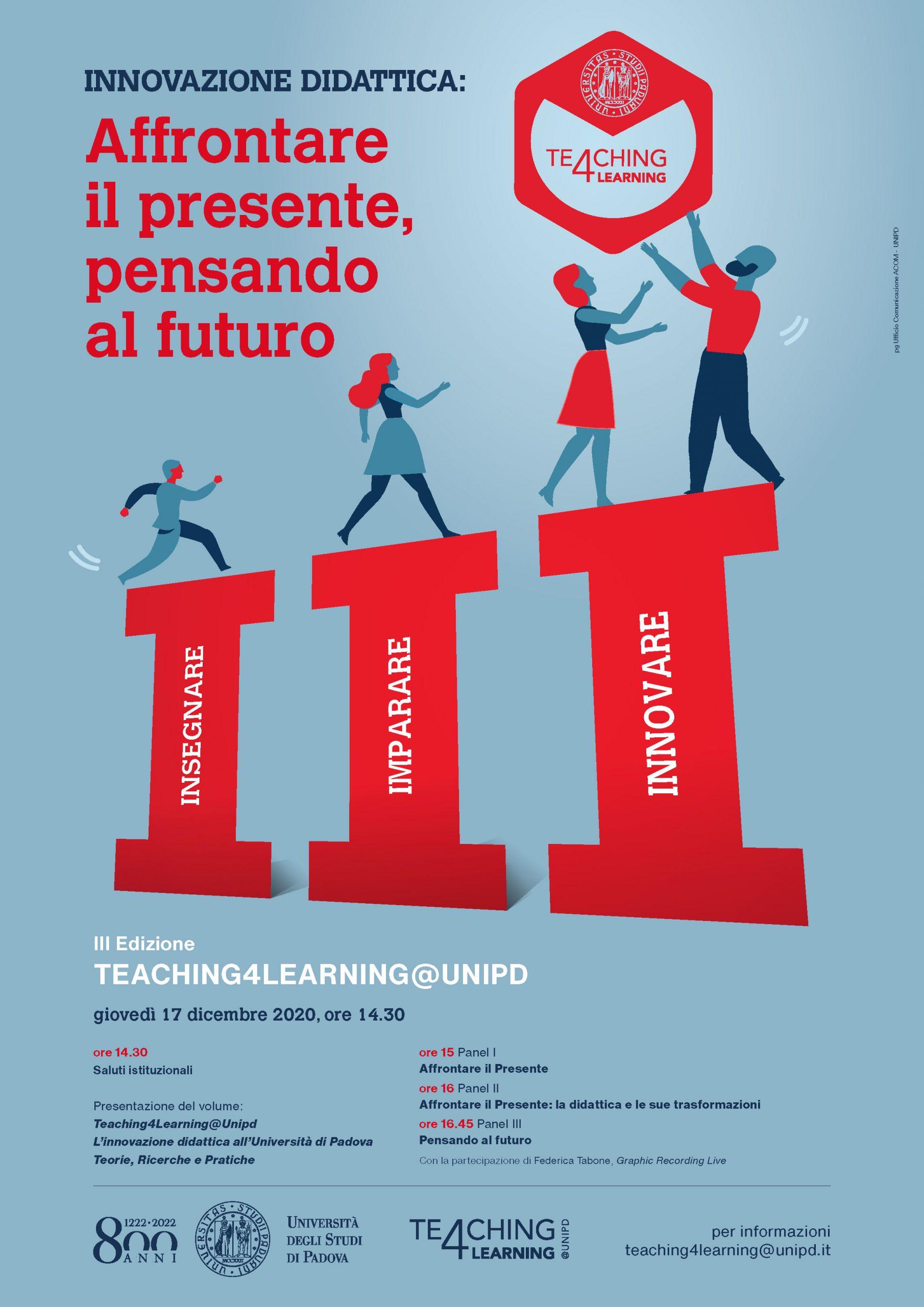 """Convegno """"Innovazione didattica. Affrontare il presente pensando al futuro"""" - 17 dicembre - Locandina"""