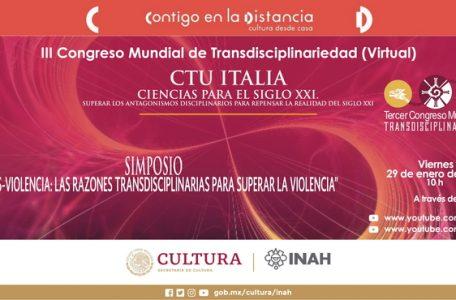 "Simposio ""Trans-violence. The transdisciplinary reasons to overcome violence"" - 29 gennaio - Immagine"
