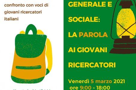 """Webinar """"Pedagogia generale e sociale. La parola ai giovani ricercatori"""" - 5 marzo - Locandina"""