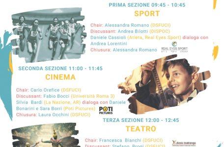 """Convegno """"Festival dell'Inclusione"""" - 3 marzo - Locandina"""