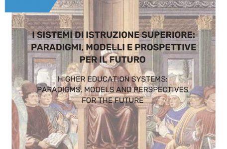 """Pubblicazione numero rivista """"Formazione, lavoro, persona"""" sul tema """"I sistemi di istruzione superiore. Paradigmi, modelli e prospettive per il futuro"""" - copertina"""