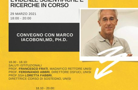 """Convegno Internazionale """"Mirror Neurons. Evidenze scientifiche e ricerche in corso"""" - 29 marzo - Locandina"""