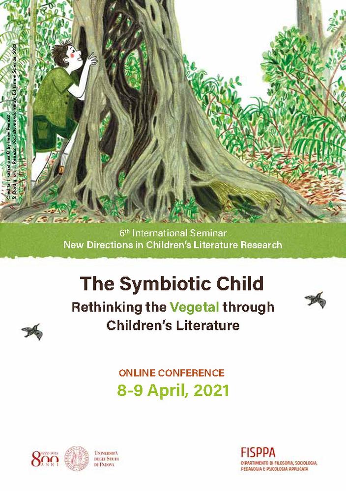 "Webinar ""The symbiotic child. rethinking the vegetal through children's literature"" - 8-9 aprile - Locandina"