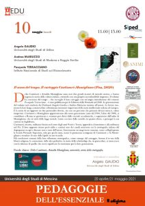 """Presentazione volume """"Il senso del tempo. Il carteggio Cantimori-Momigliano"""" - 10 maggio"""