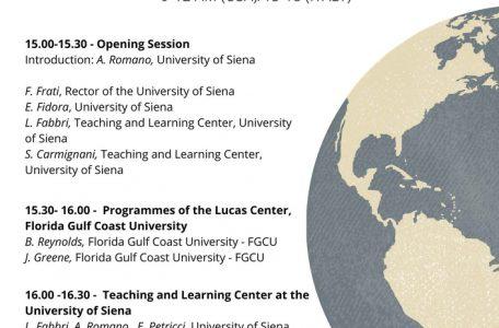 "Convegno Internazionale ""Multiculturalism and innovation in higher education"" - 9 giugno - Locandina"