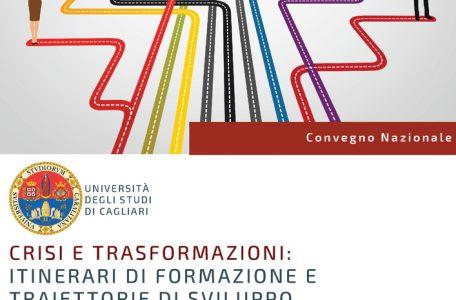"""Convegno """"Crisi e trasformazioni. Itinerari di formazione e traiettorie di sviluppo professionale per l'insegnante specializzato"""" - 11 giugno - Locandina"""