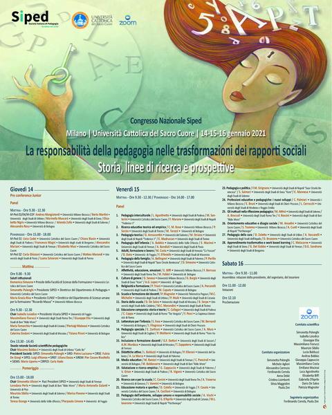 Congresso Nazionale - Milano - Locandina
