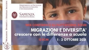 """Convegno """"Migrazioni e diversità. Crescere con le differenze a scuola"""" - 1-2 ottobre - Brochure"""